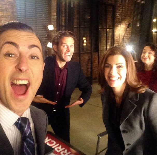 The Good Wife Instagram: Campaign selfie!!