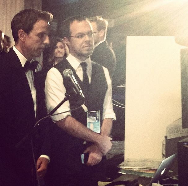 Behind the Scenes with Host, Seth Meyers.