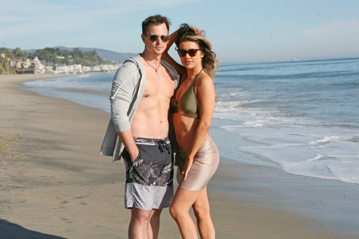 Steffy Forrester and Wyatt Spencer from The Bold and the Beautiful
