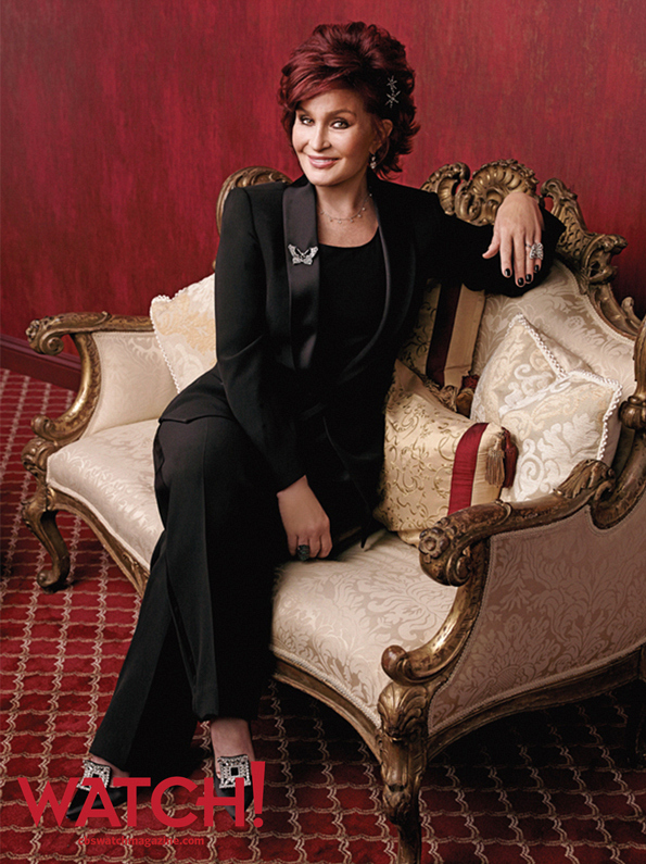 """One of the joys of this job is the amazing people that we get to meet, day in, day out."" -- Sharon Osbourne."