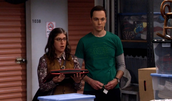 Sheldon let Amy in on a big secret on The Big Bang Theory.