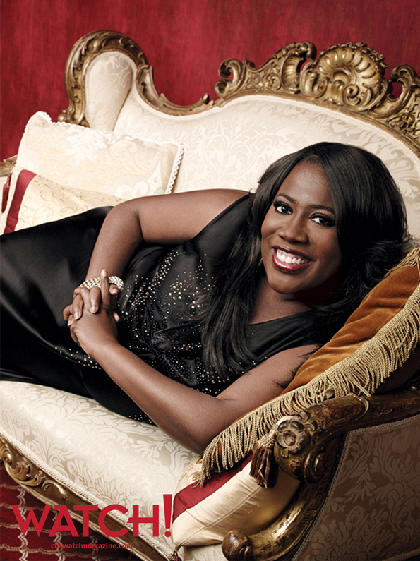 """Every day, I lose a little bit of my vanity but gain a little bit more comedic and daytime TV experience."" -- Sheryl Underwood."