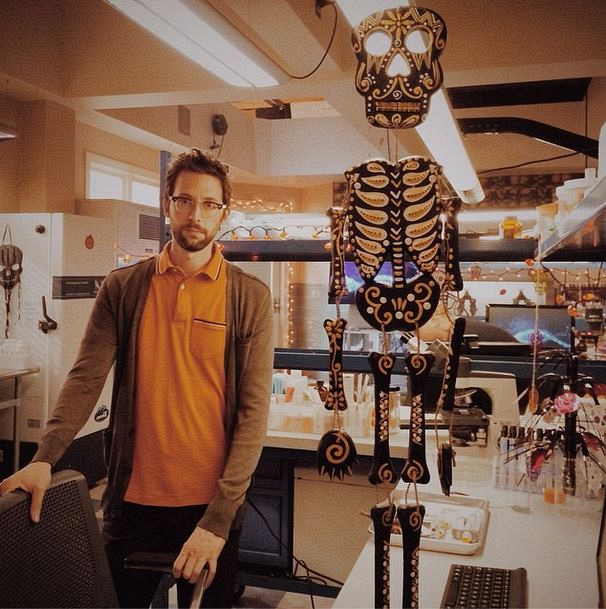 NCIS New Orleans Instagram:  When Halloween rolls around, we thin dudes gotta stick together - @robkerkovich photo credit -CCH Pounder. #NCISNOLA #CBSInstagramTakeover