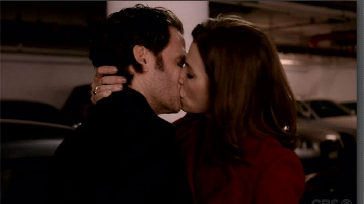 7. An unexpected smooch leaves us all speechless.