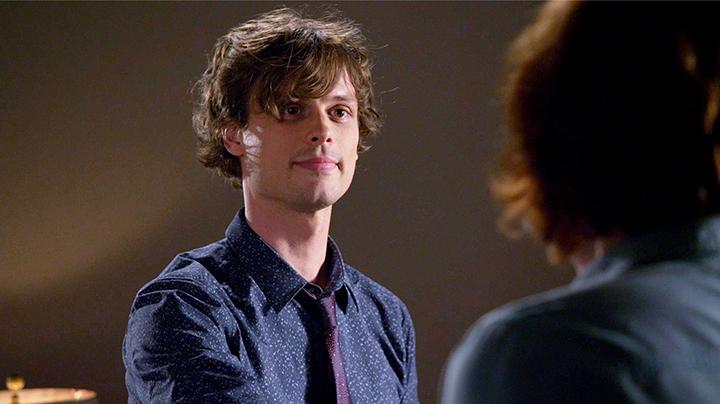 Reid asked a girl out.  - <em>Criminal Minds</em>