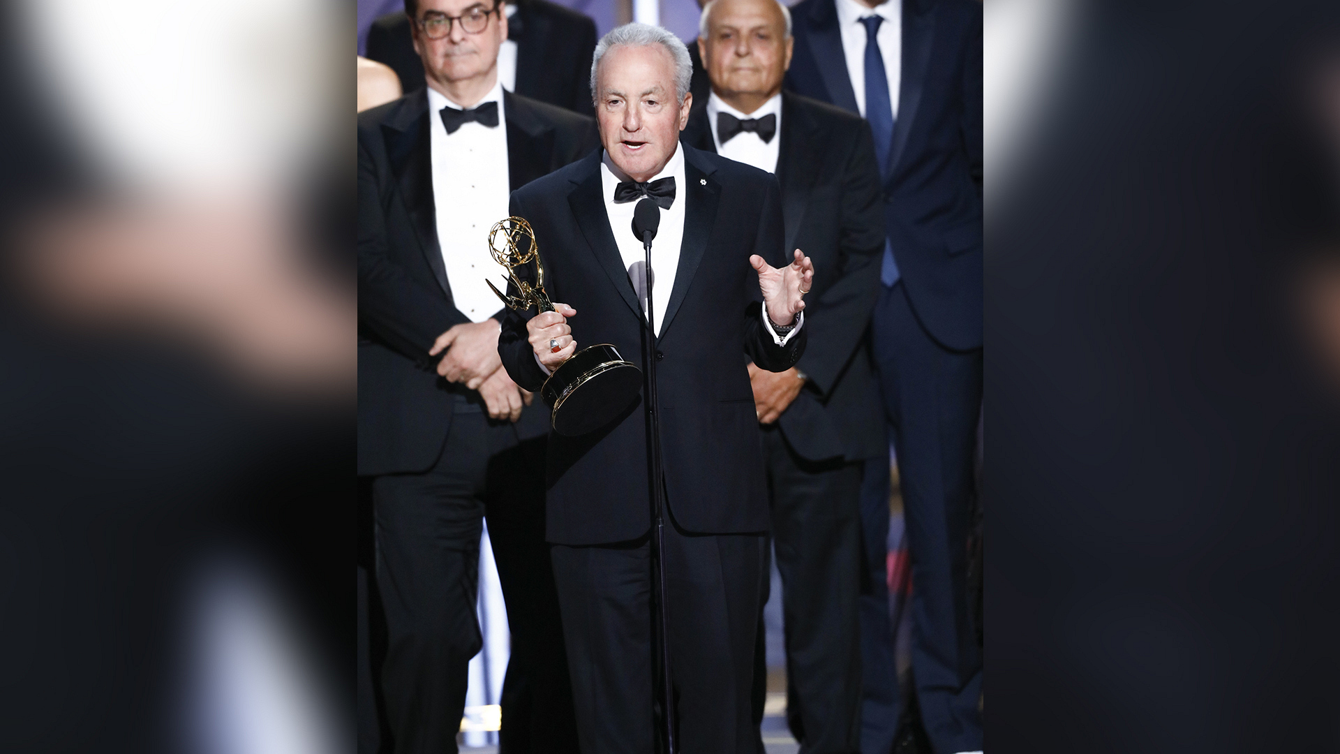 Saturday Night Live wins Outstanding Variety Sketch Series at The 69th Emmy Awards.