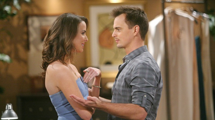 Wyatt approaches Ivy with his concern regarding the threat that is hanging over their relationship.