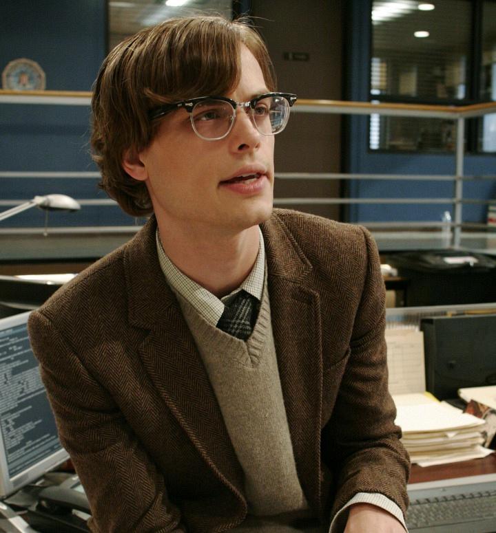 <i>Criminal Minds'</i> Dr. Spencer Reid: Then