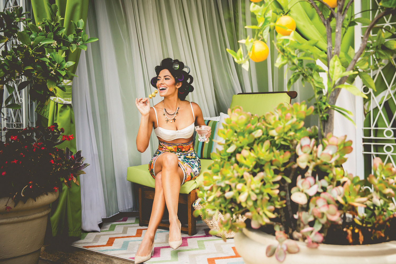 Sarah Shahi Dazzles in Watch! Magazine