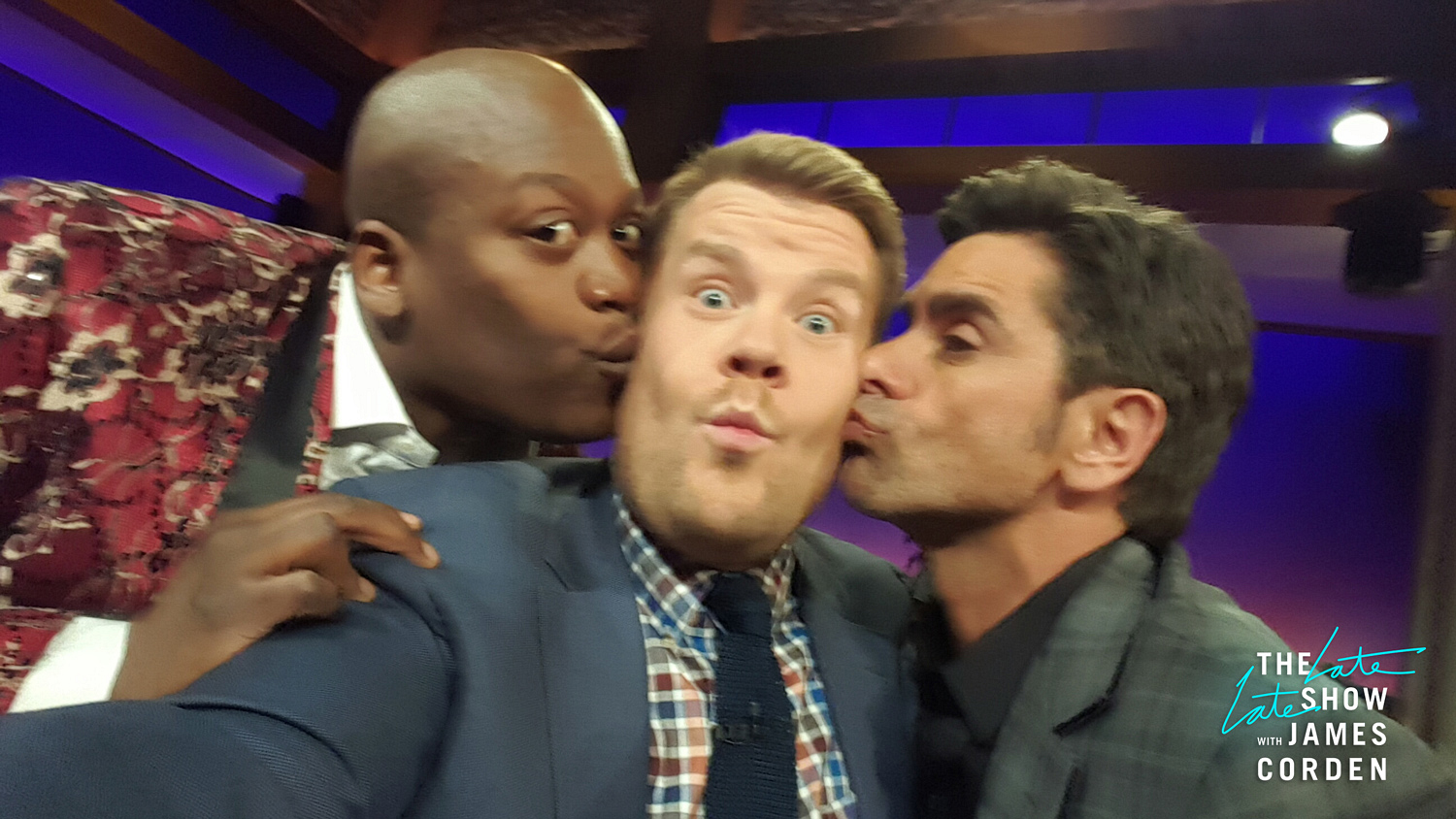 Tituss Burgess and John Stamos