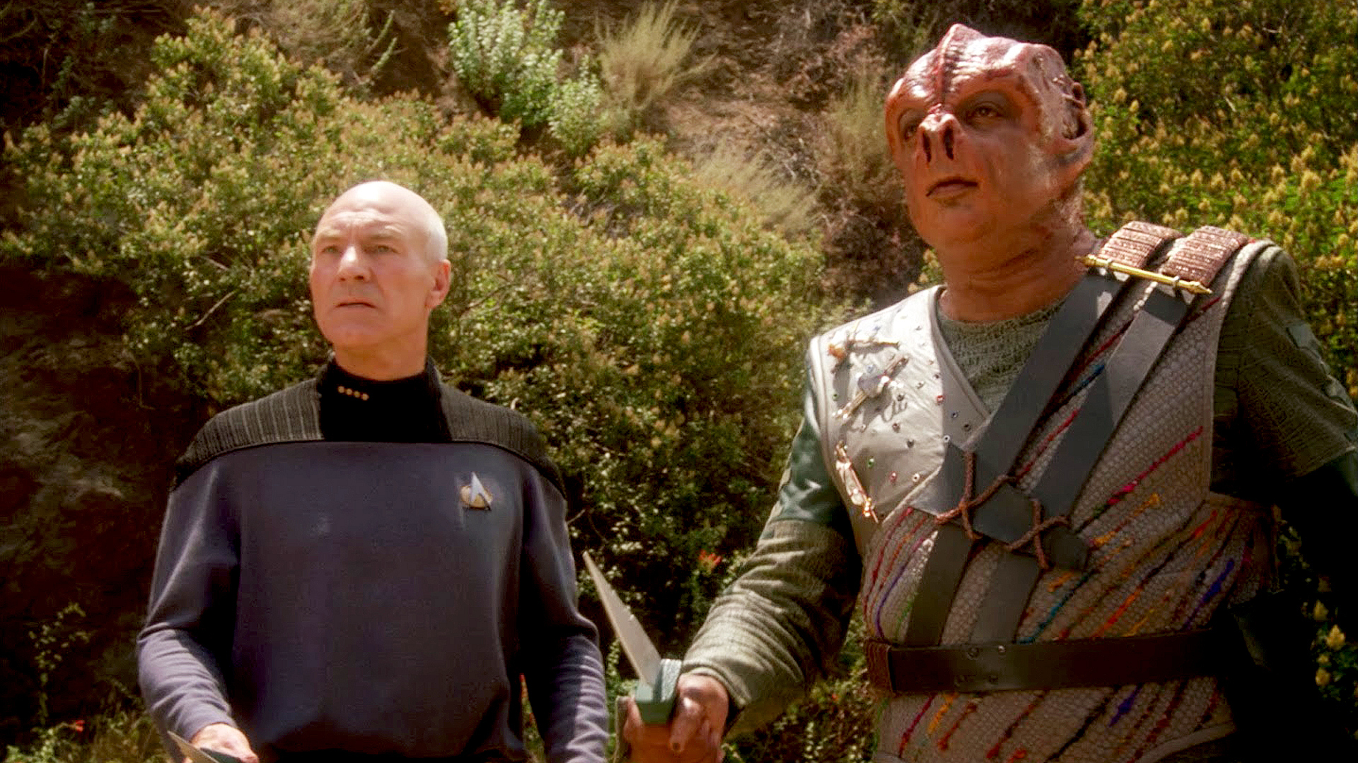 """Darmok and Jalad at Tanagra."""