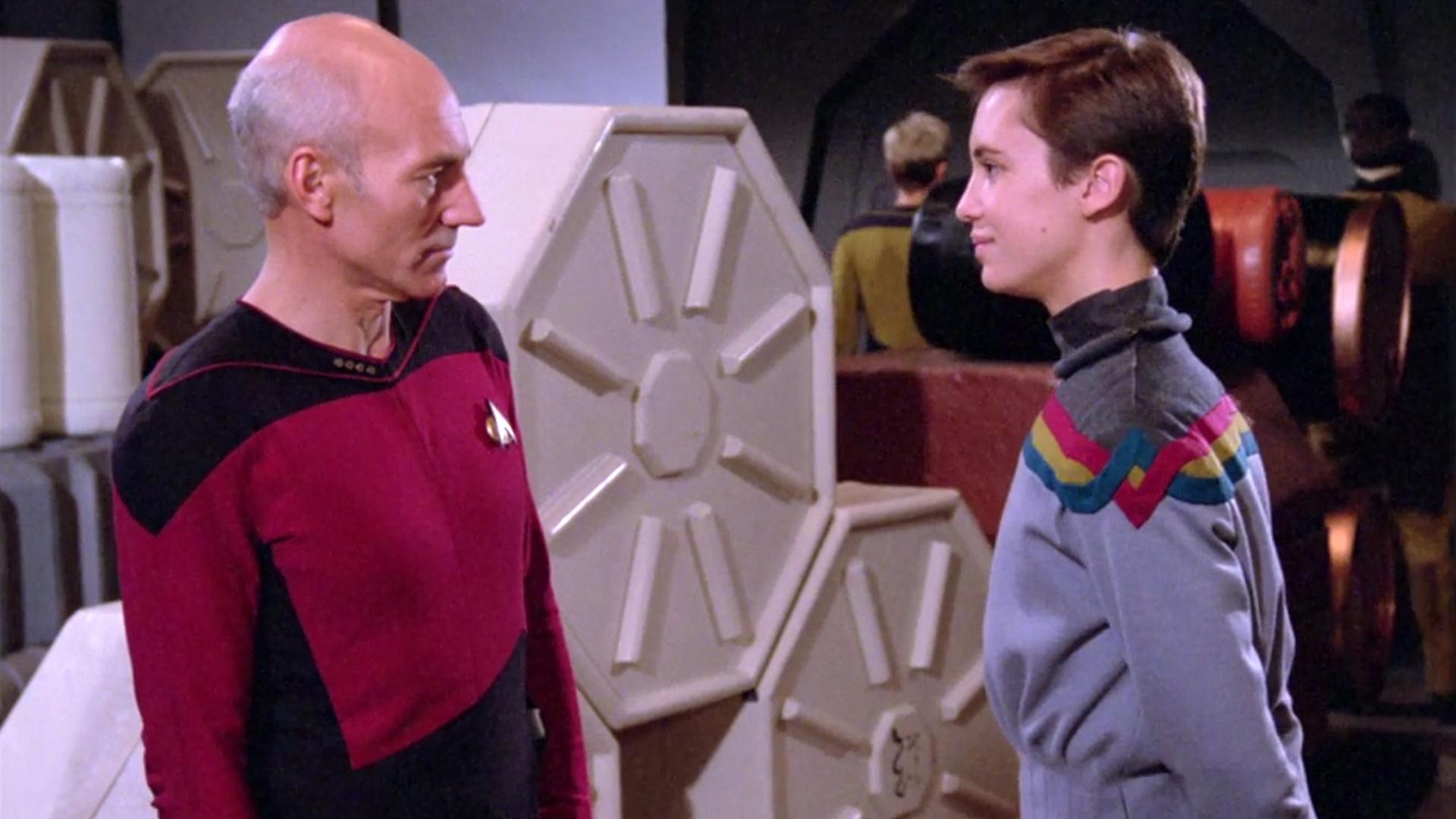 """Shut up, Wesley!"""