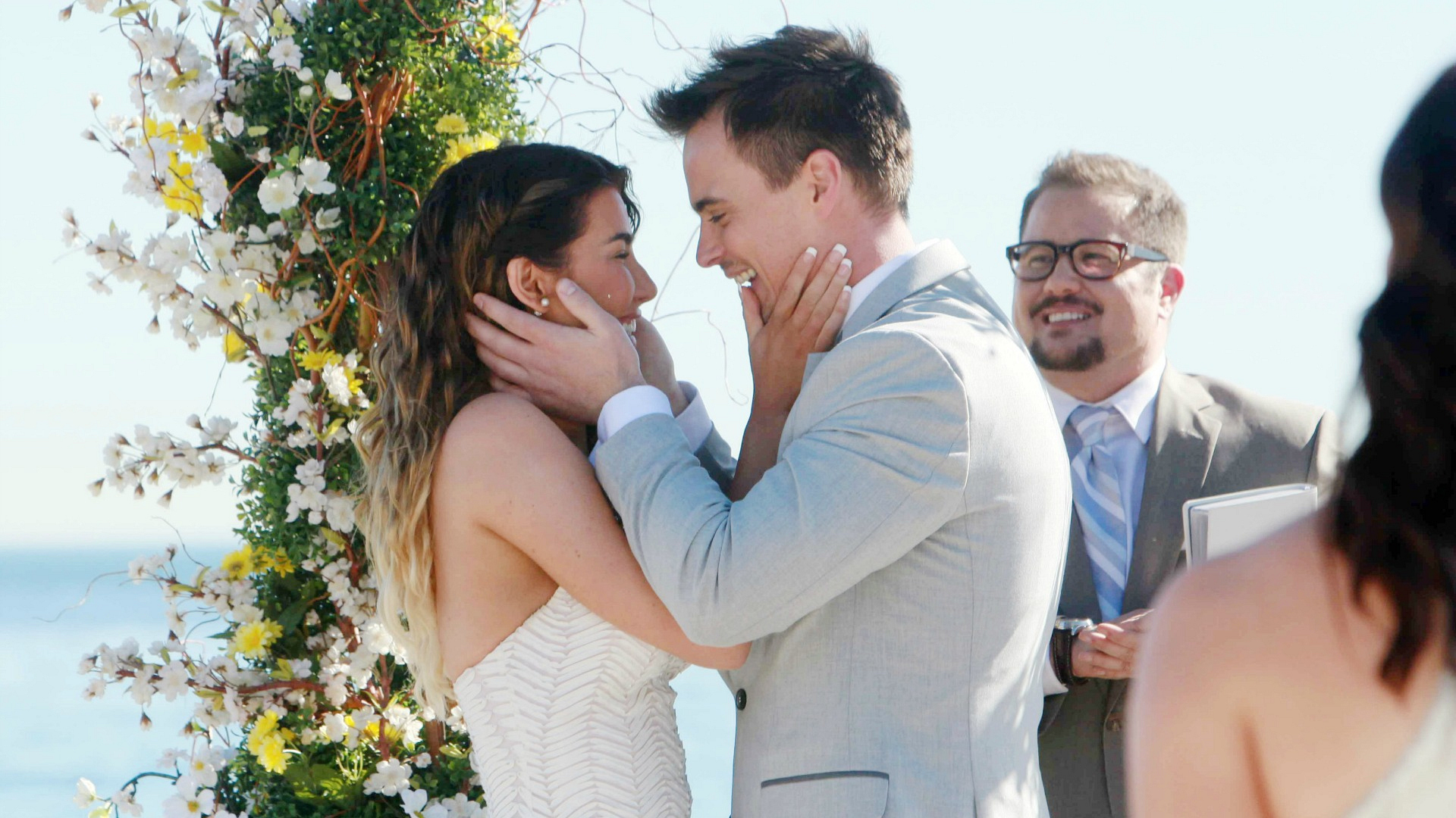 Steffy and Wyatt exchanged vows on B&B.
