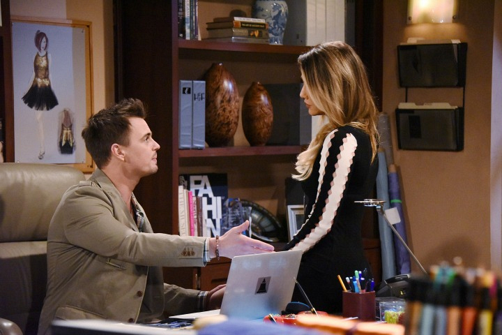 Wyatt and Steffy have a heart-to-heart about Liam and his disappearance.