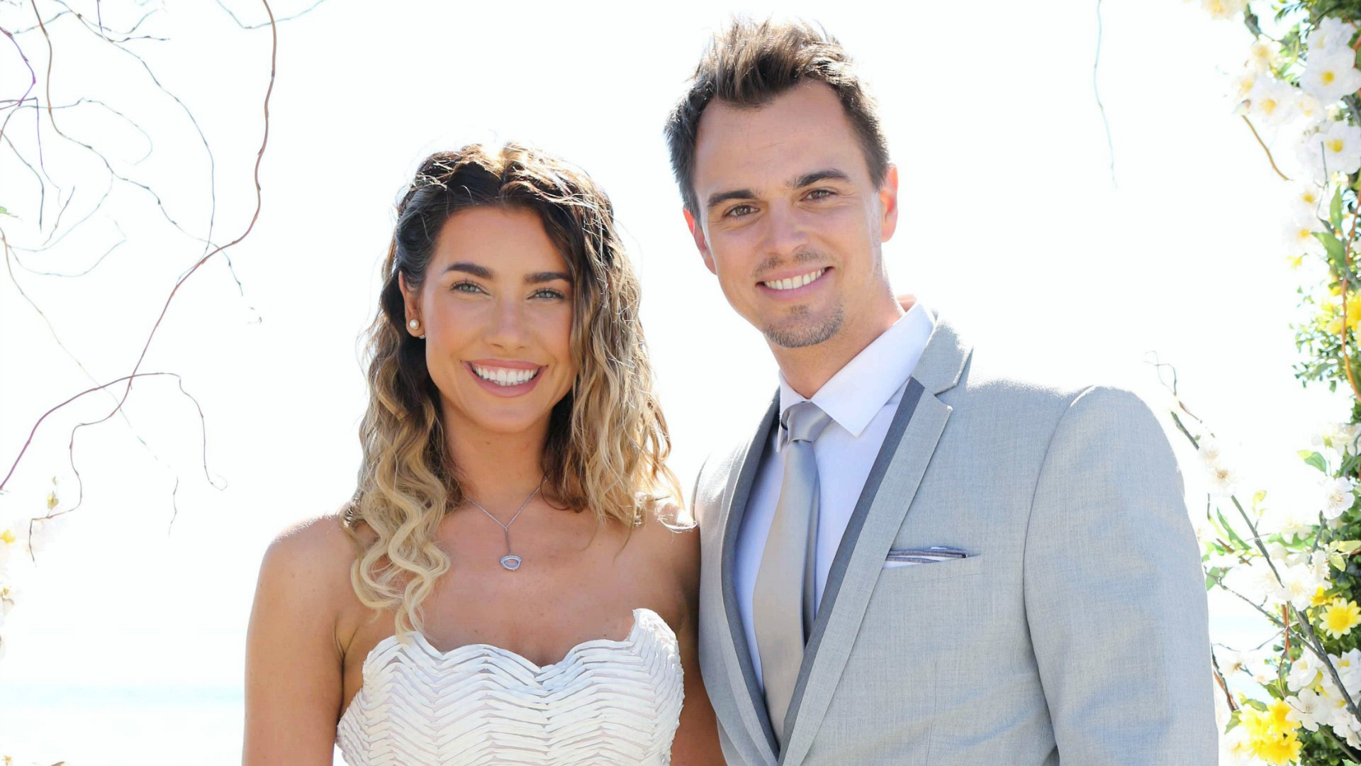 Steffy and Wyatt were married on The Bold and the Beautiful.