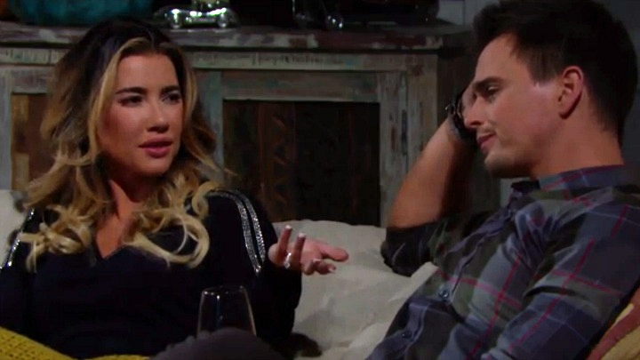 A heartbroken Steffy vents to Wyatt.
