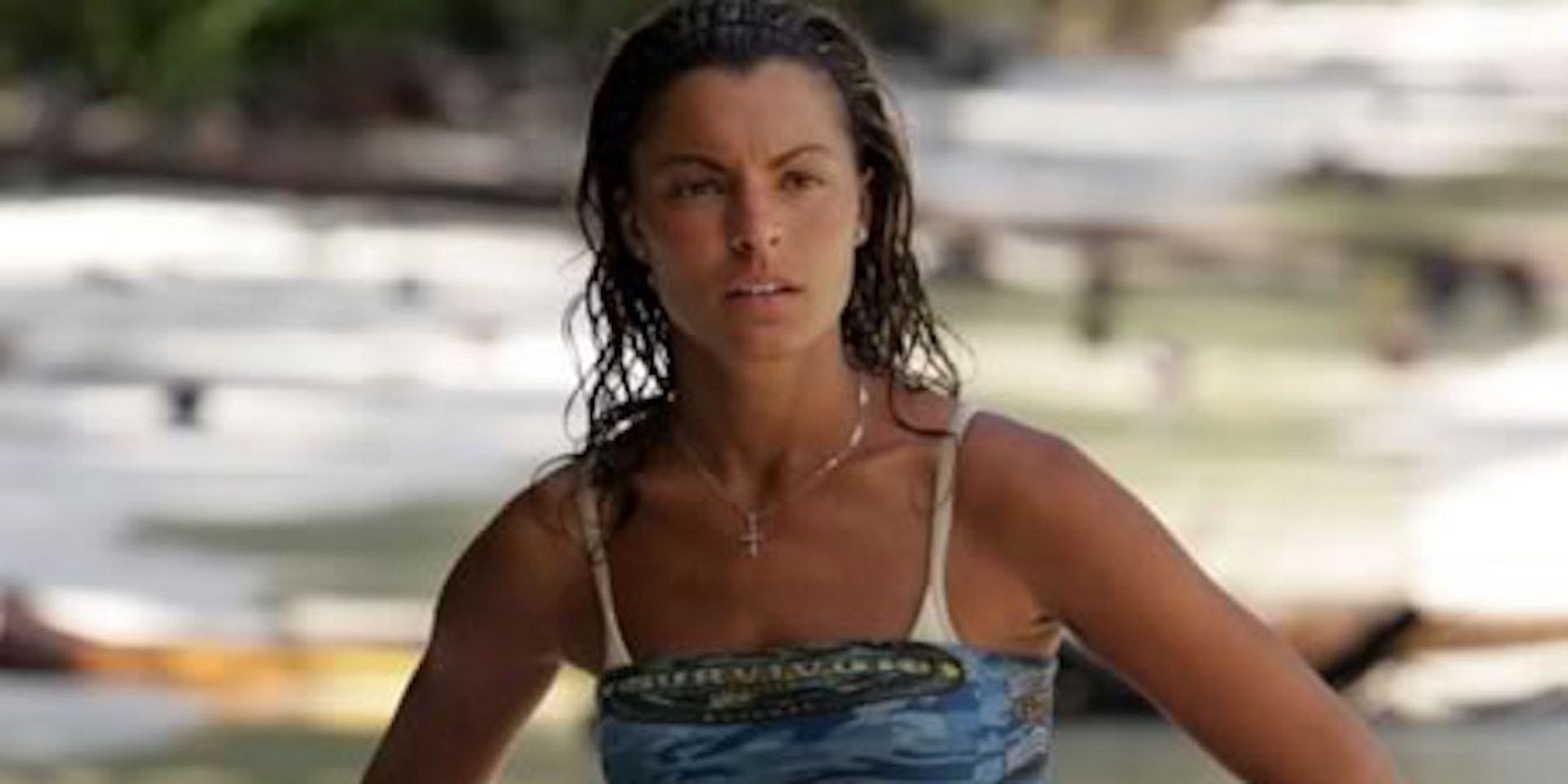 Stephenie LaGrossa is a tribe of one on Survivor: Palau