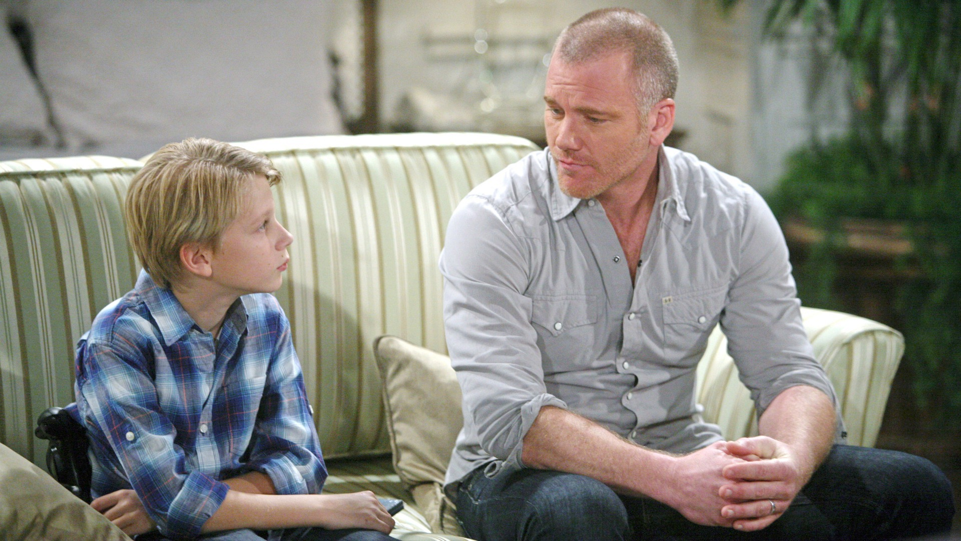 Stitch's son came to live with him on The Young and the Restless.