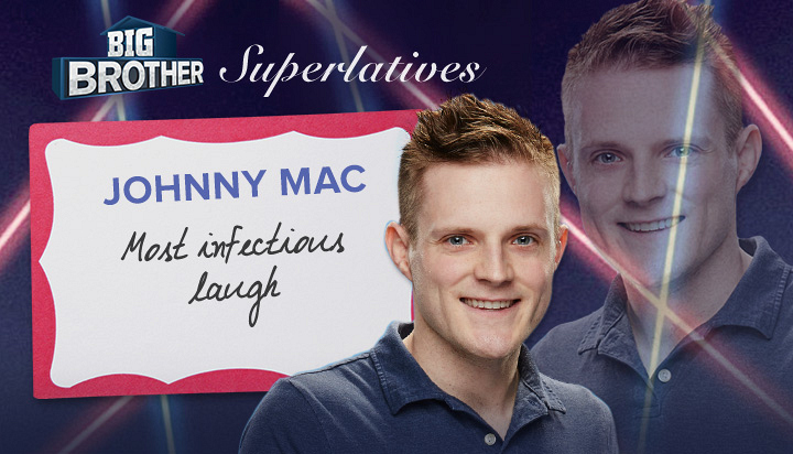 Johnny Mac - Most infectious laugh