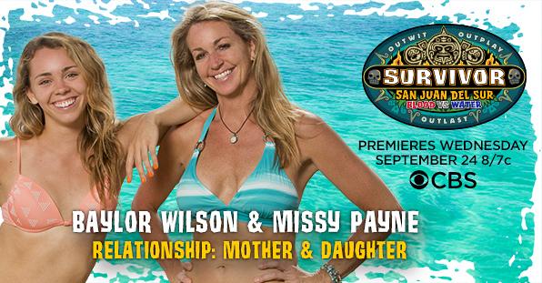 Baylor Wilson and Missy Payne