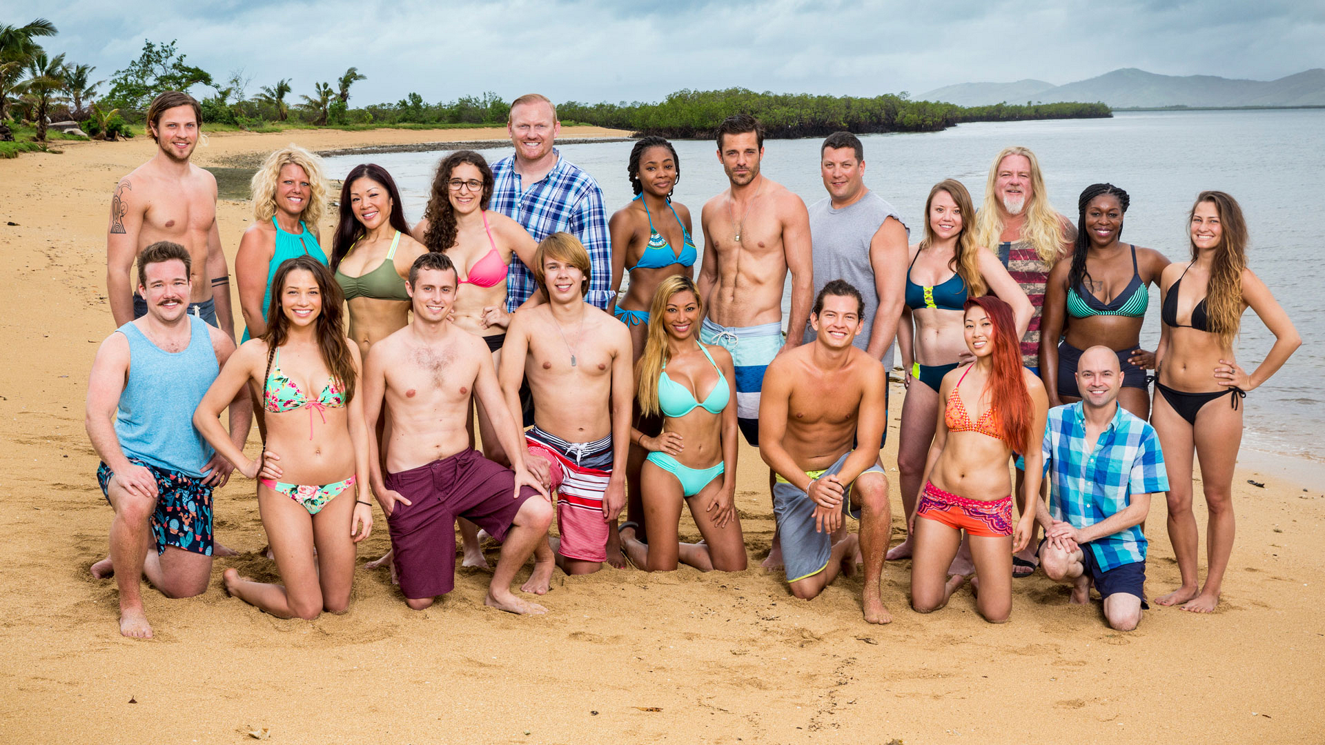 Meet the full cast of Survivor: Millennials vs. Gen X