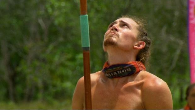 Survivor: Second Chance: Joe vs. Keith in the elimination challenge