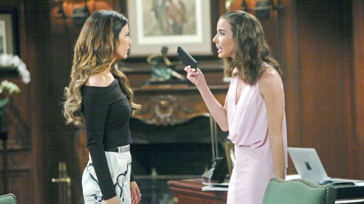 Ivy finally confronts Steffy with the footage.
