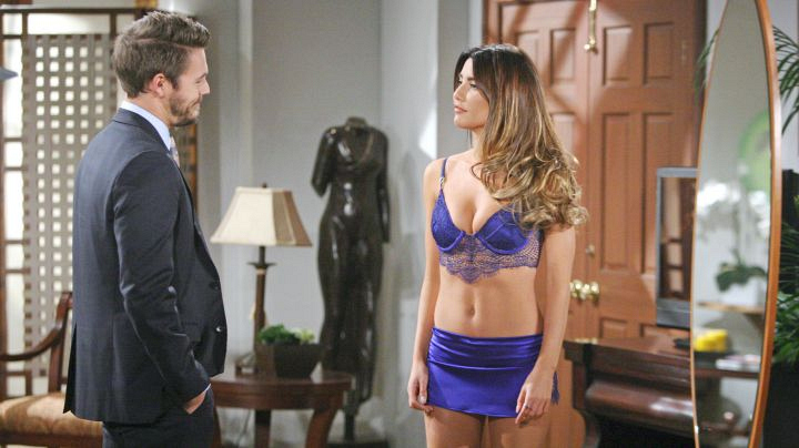 Things start to heat up between Liam and Steffy.