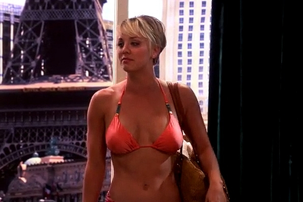 1. Kaley Cuoco - The Big Bang Theory