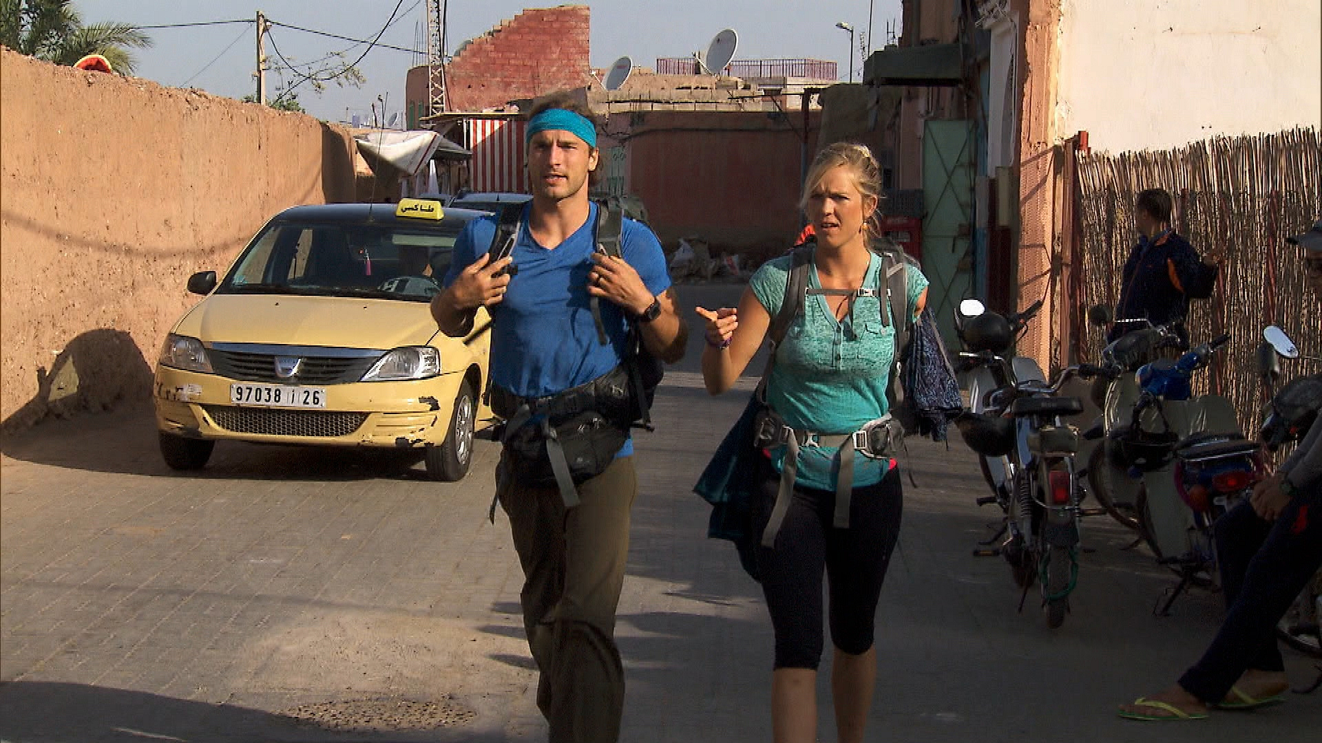 Traveling through Morocco