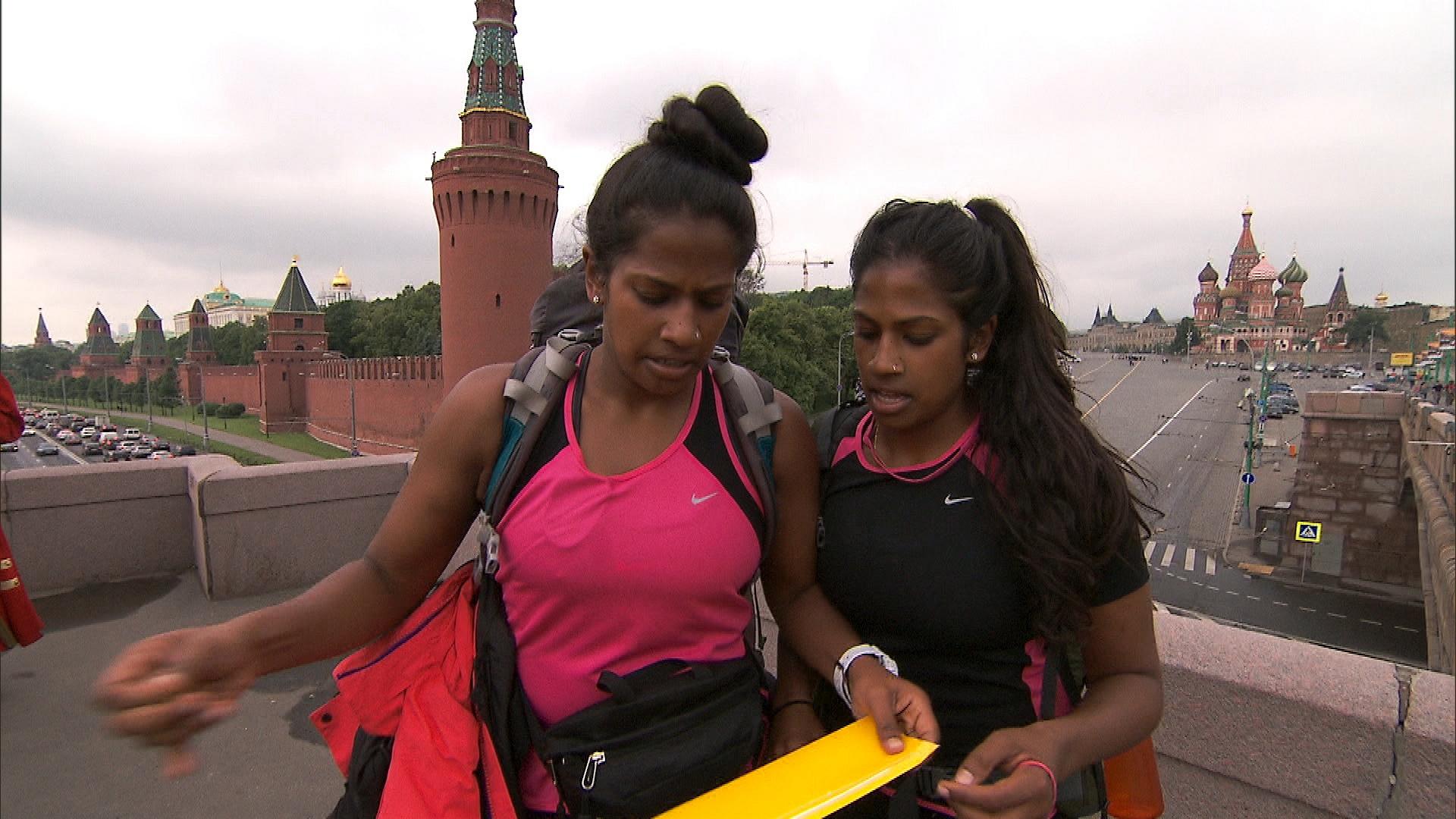 Nadiya and Natalie
