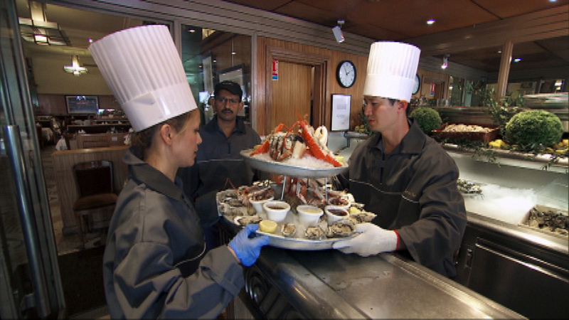 #ChacAttack prepare an elaborate seafood dish