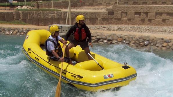 Jamal rafts
