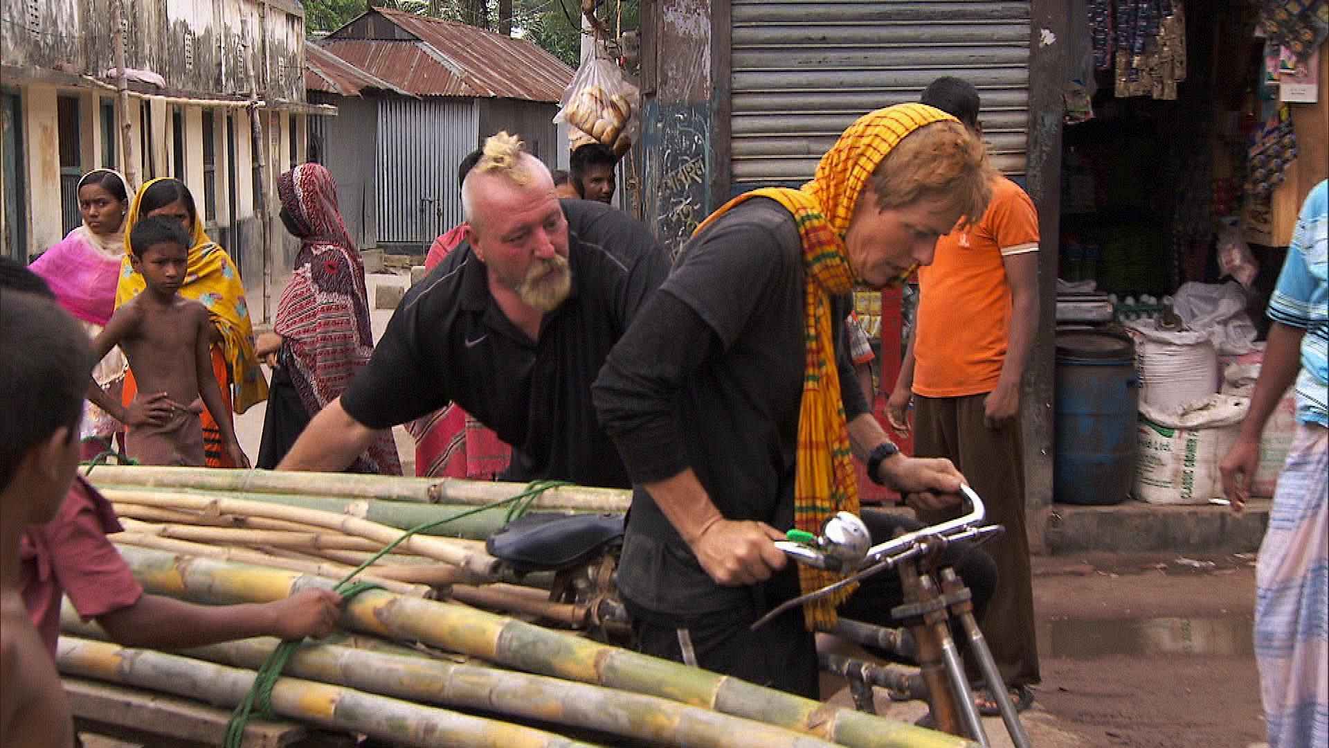 Delivering bamboo