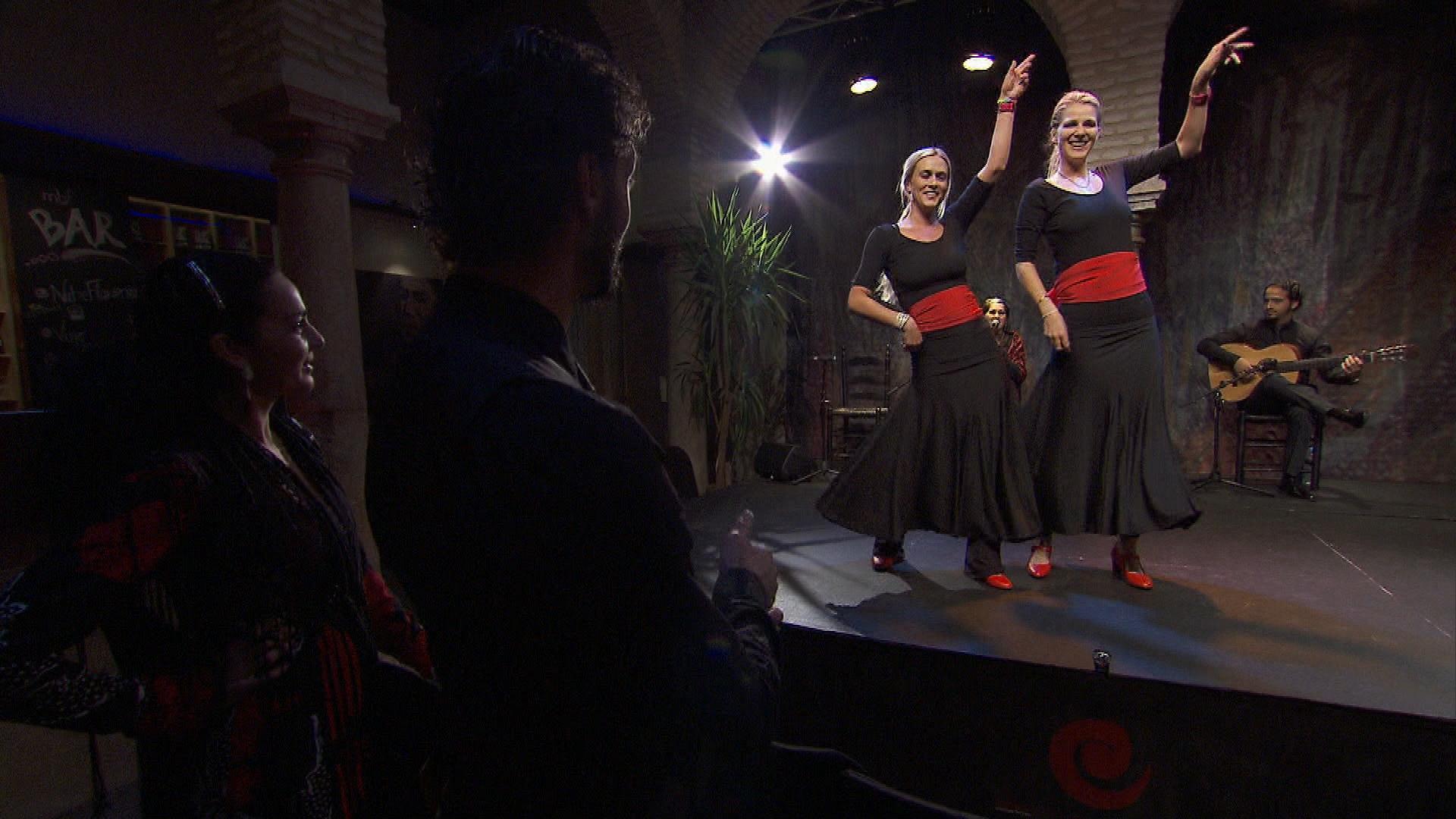 Dance routine in Season 24 Episode 10