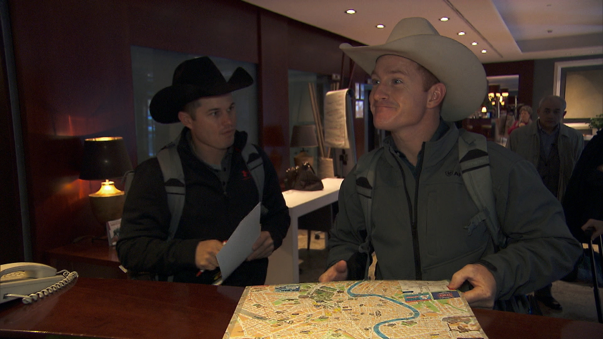 Cowboys get lost in Season 24 Episode 8