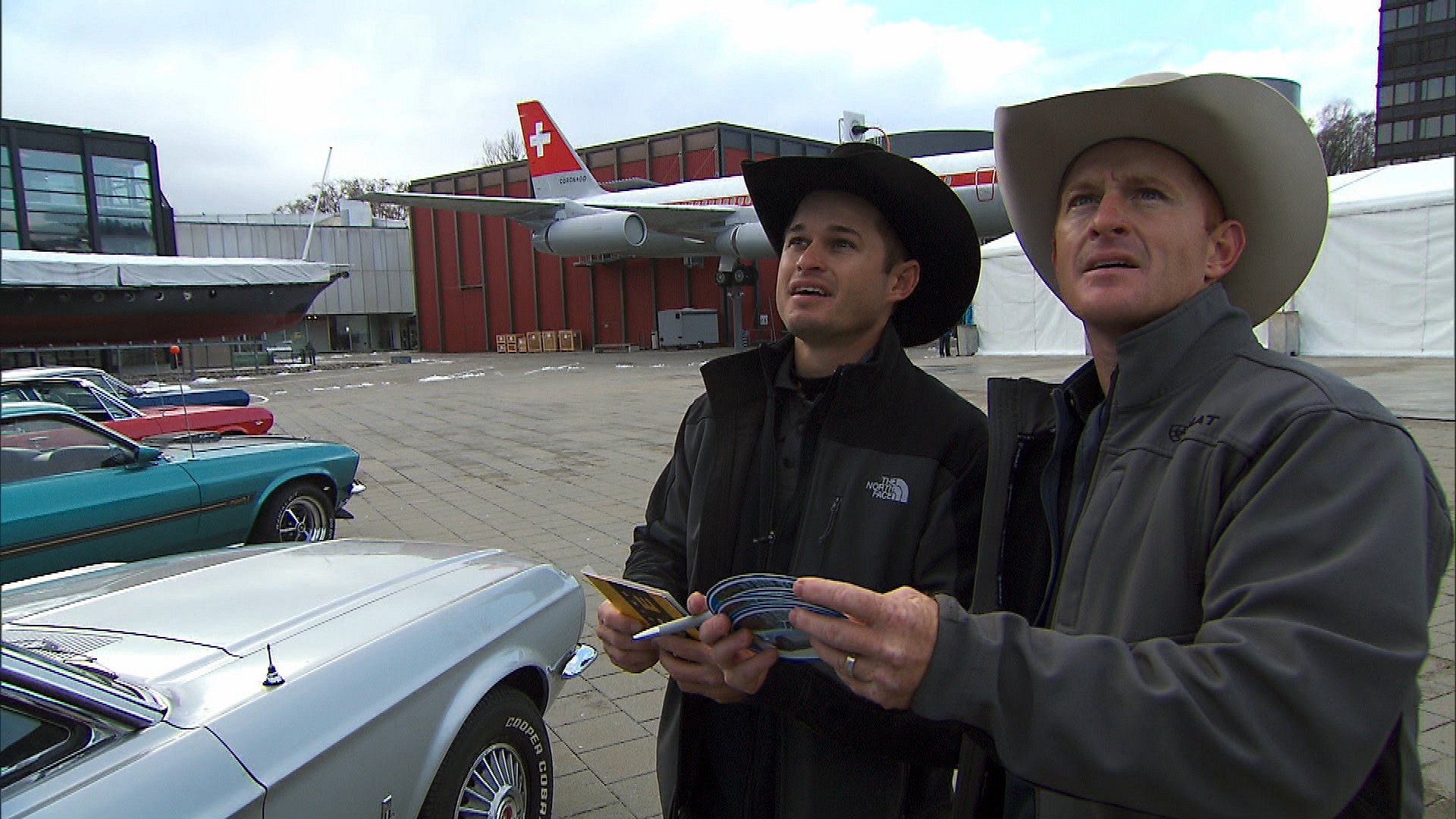 Cowboy brothers in Season 24 Episode 9