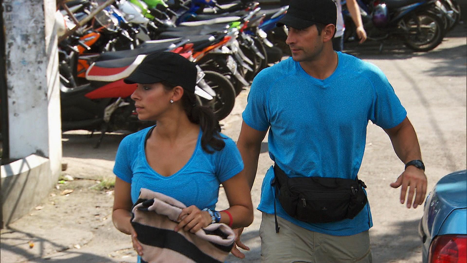 Racing through Bandung, Indonesia in Season 23 Episode 9