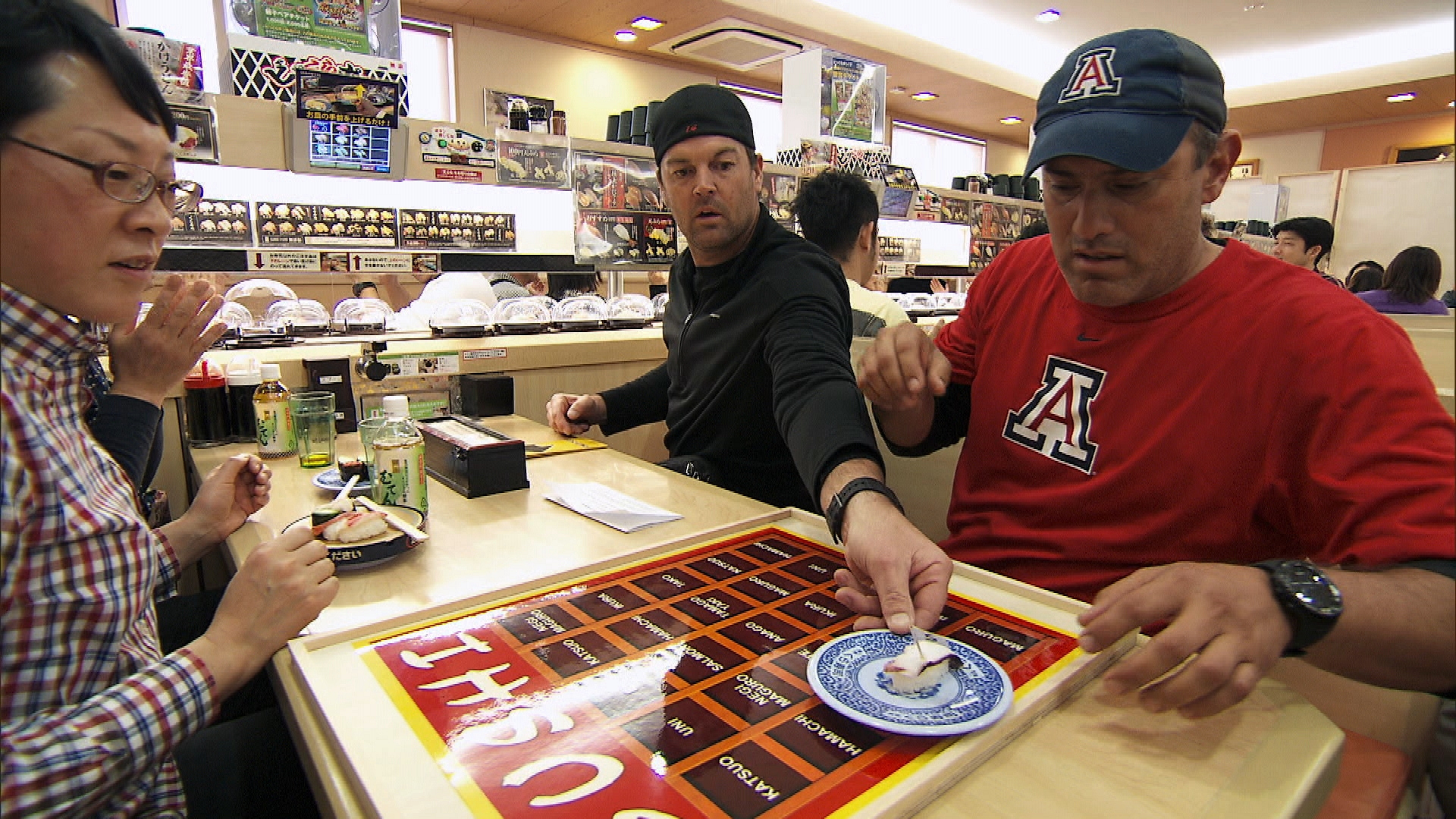 Art and JJ Play Sushi Bingo