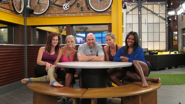 The Houseguests Inside