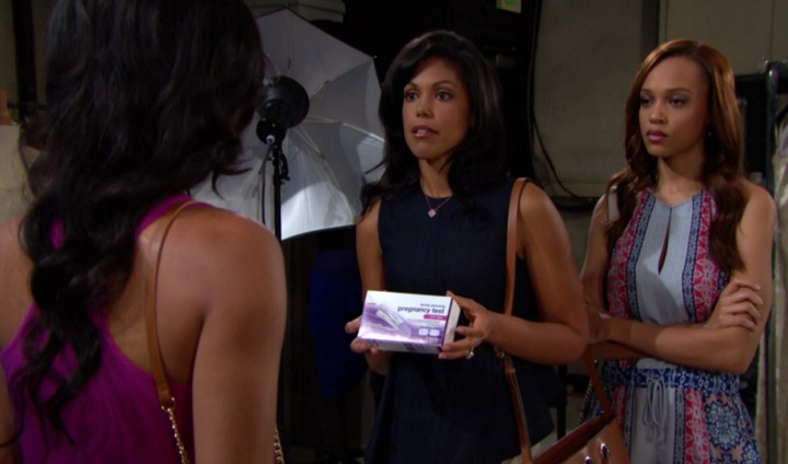 Maya and Nicole confront Sasha.