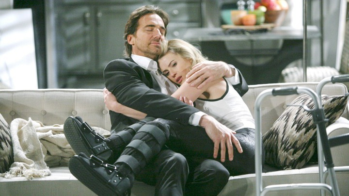 Ridge helps Caroline find her stride.