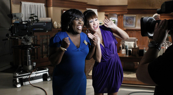 "Sheryl Underwood & Diana DeGarmo on ""Y&R"" Set!"