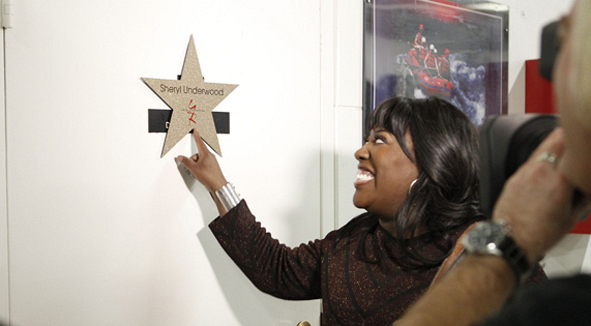 "Sheryl Underwood with ""Y&R"" Star"