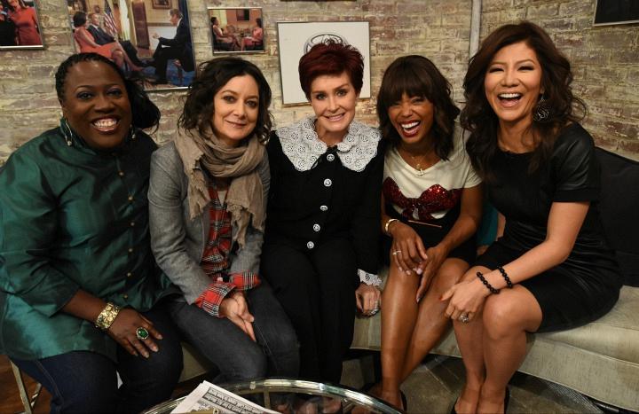 12. Sheryl Underwood, Sara Gilbert, Sharon Osbourne, Aisha Tyler, and Julie Chen –The Talk