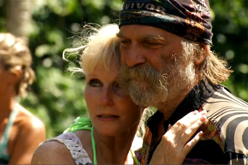"Season 24: Greg ""Tarzan"" Smith is reunited with his wife."
