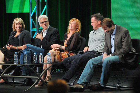 CSI Panel at 2011 Summer TCAs Featuring Ted Danson, Marg Helgenberger, George Eads, Don McGill and Carol Mendelsohn.