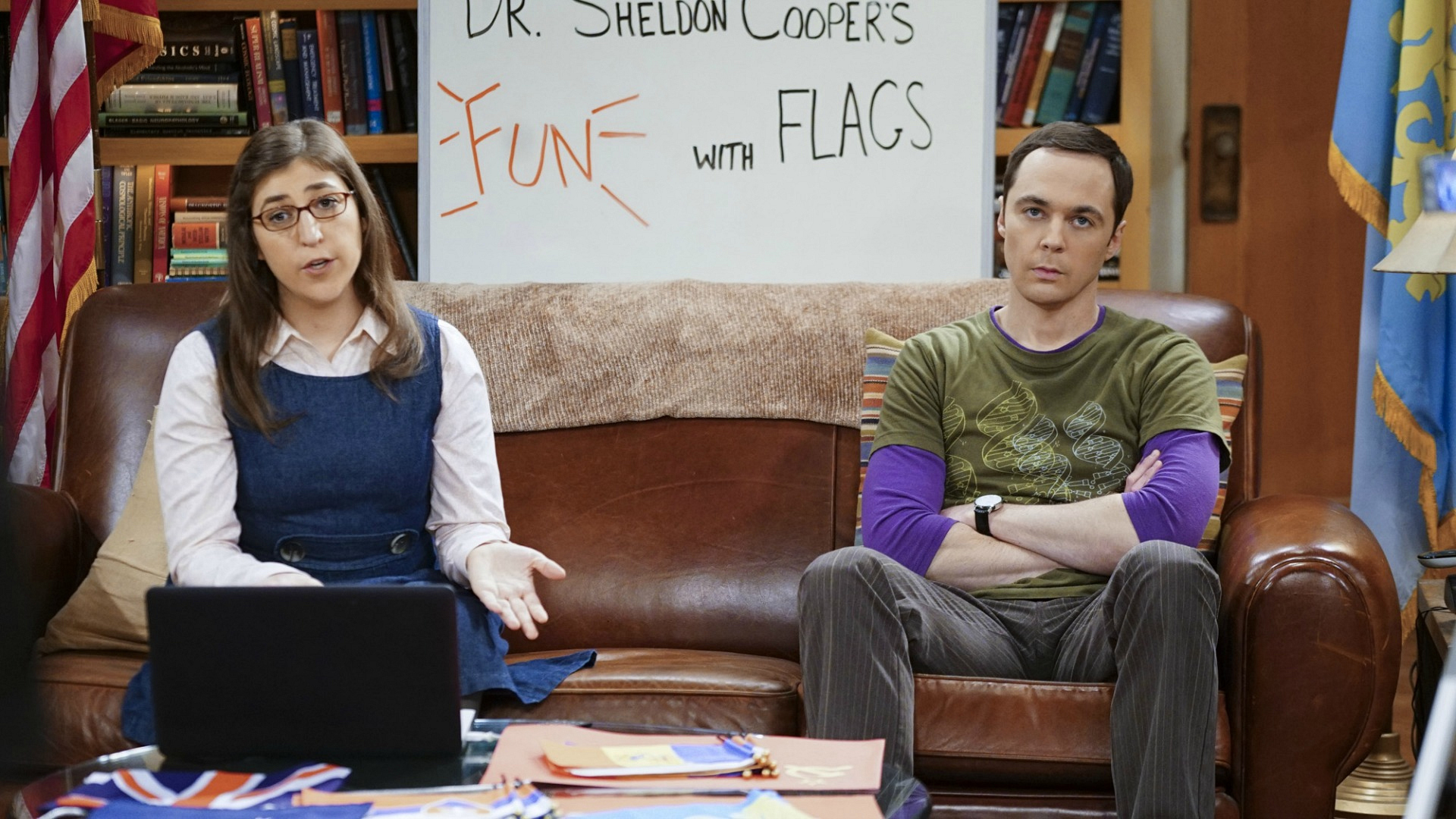 """No, I just blink a lot; it's not Morse code for 'rescue me'."" –Amy Farrah Fowler"