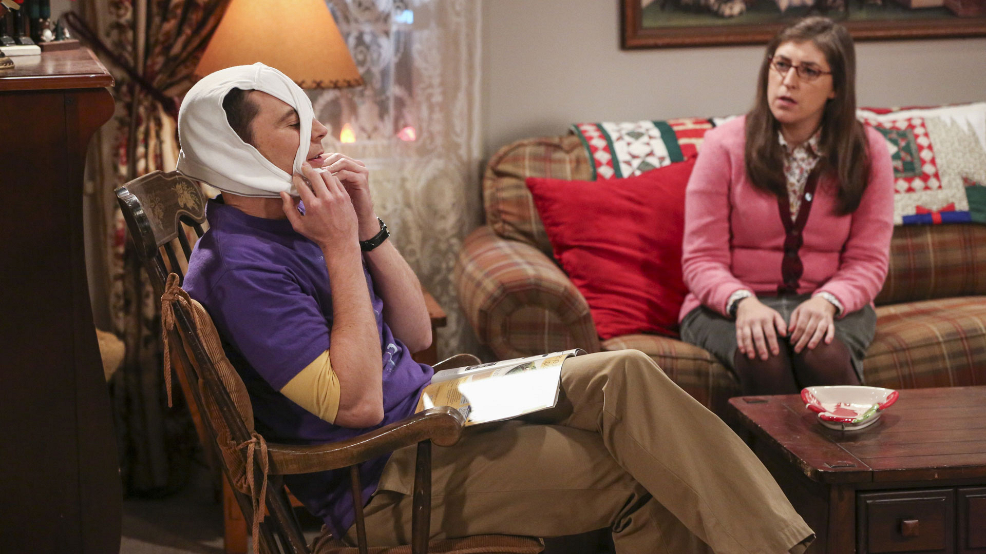 Sheldon lets Amy know what's really on his mind.
