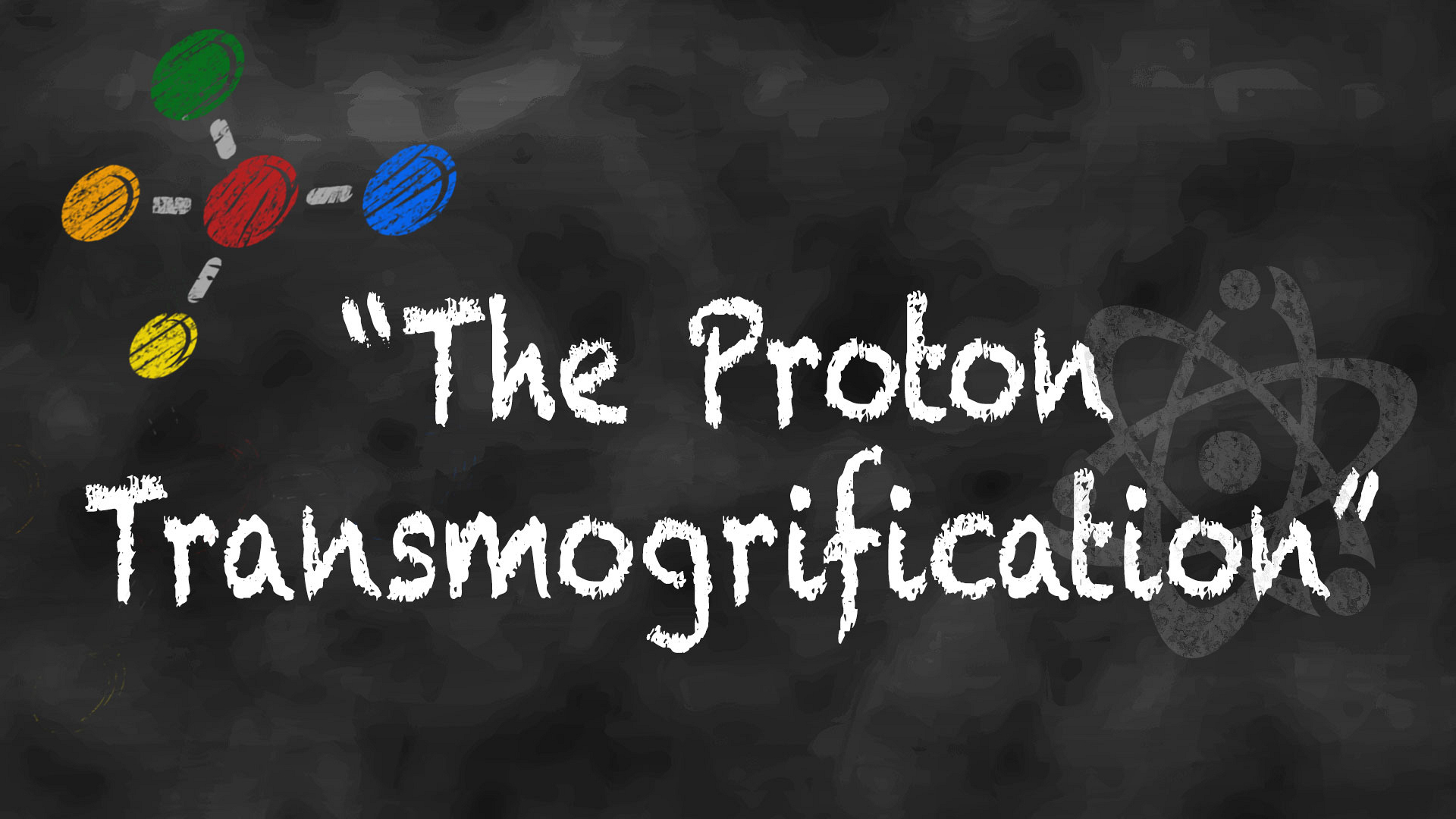 "Episode title or actual scientific theory: ""The Proton Transmogrification"""